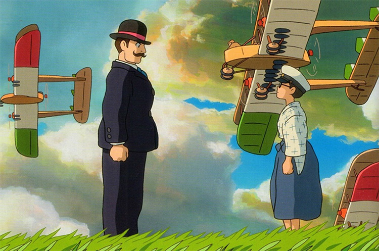 The Wind Rises - Ghibli Anime Screenshot