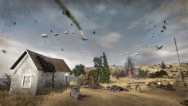 Battle of Crete CoH1