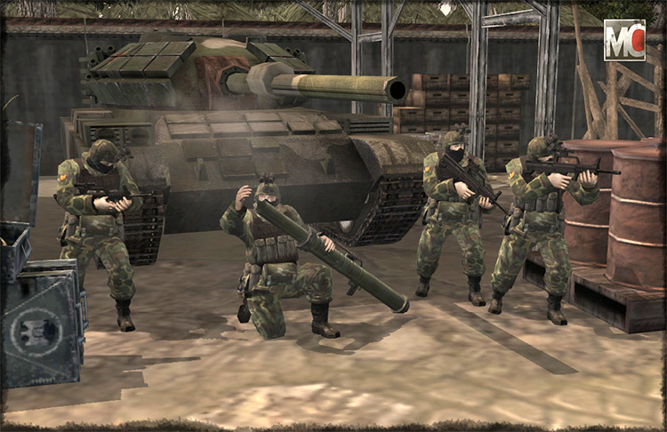 Modern Combat in CoH1