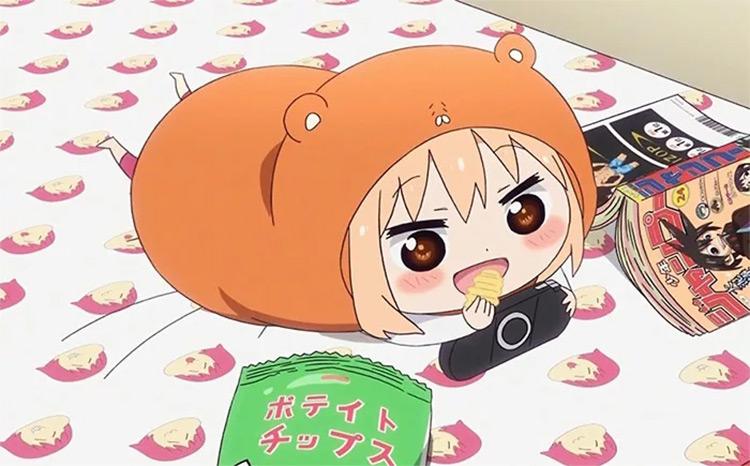 Umaru-chan from Himouto! Umaru-chan anime