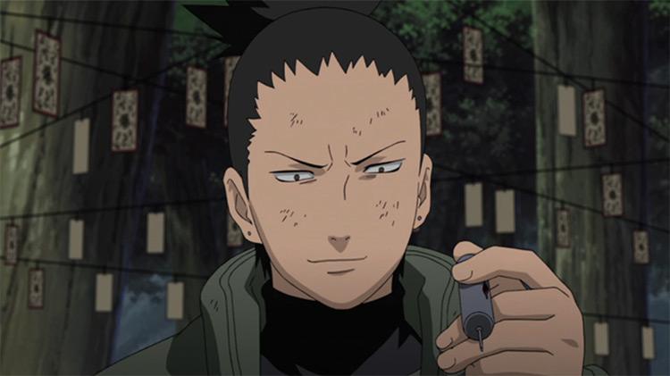 Shikamaru Nara from Naruto