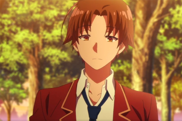 Kiyotaka Ayanokōji in Classroom of the Elite anime