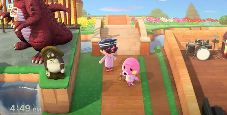 Animal Crossing gameplay