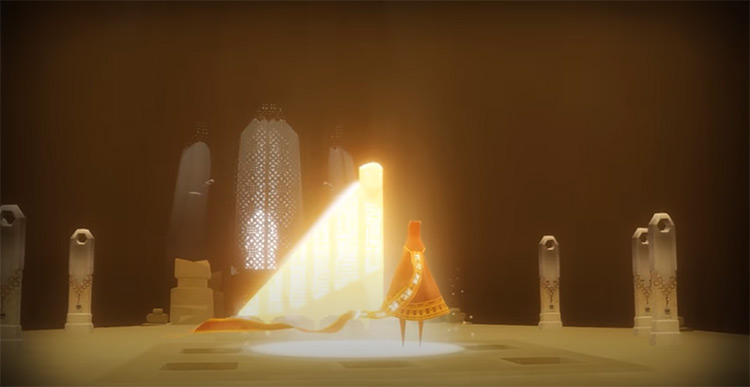 Journey gameplay screenshot