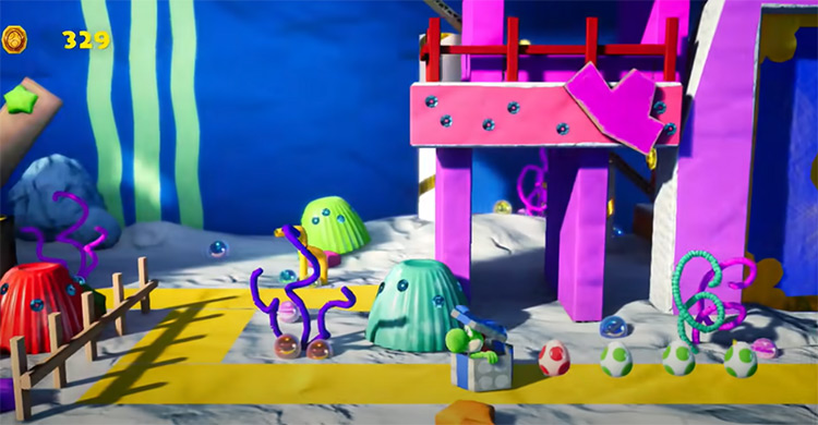 Yoshi's Crafted World video game