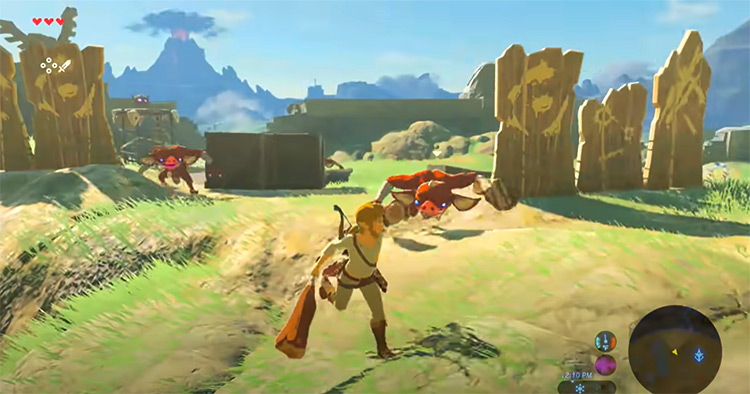 The Legend Of Zelda: The Breath Of The Wild gameplay