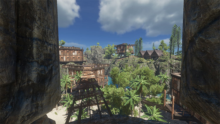 Hidden Utopia mod for Stranded Deep