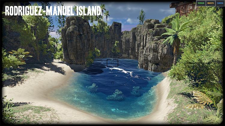 Rodriguez-Manuel Island Stranded Deep mod