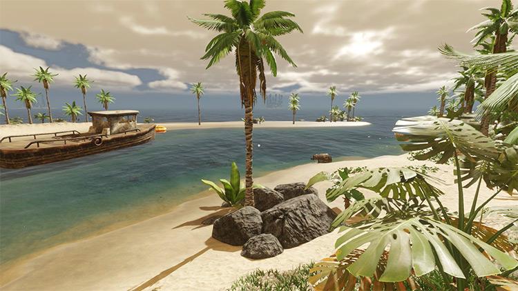 Fantasy Island Stranded Deep game mod