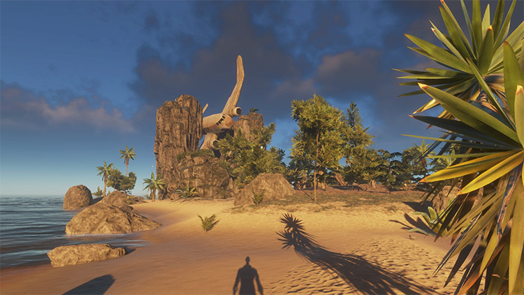 Ancient Legends mod in Stranded Deep game