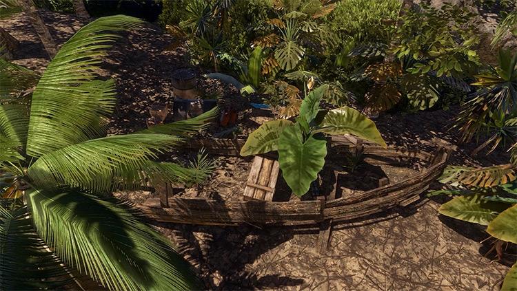 La Selva mod for Stranded Deep