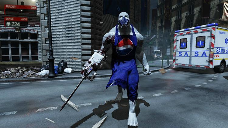 Pepsiman Scrake Skin Killing Floor 2 mod