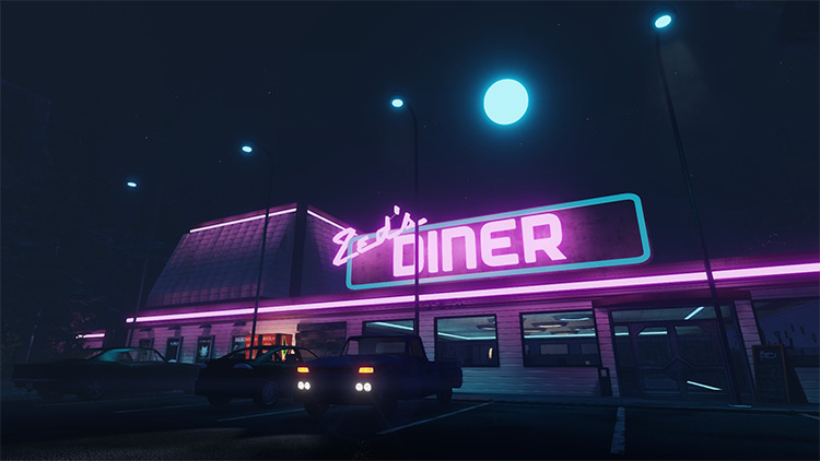 Zed's Diner Killing Floor 2 mod