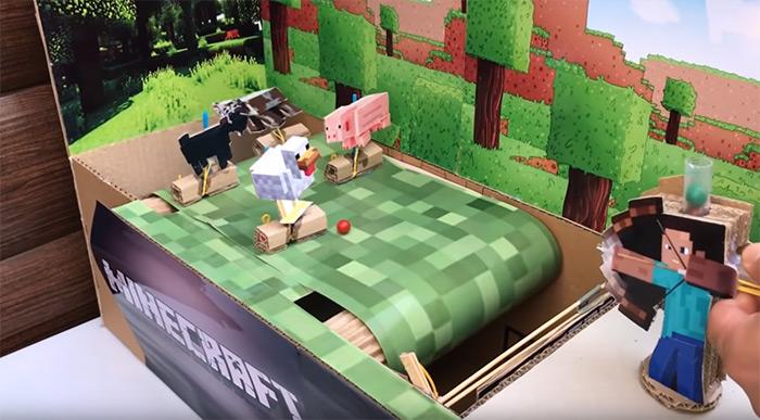 diy archery minecraft game