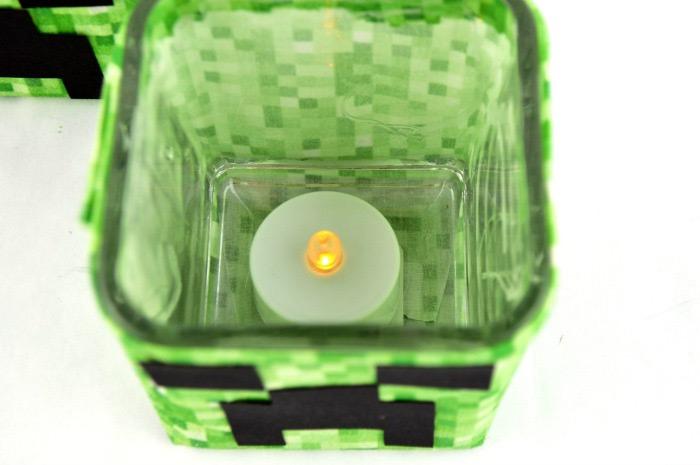 diy creeper candle holder design