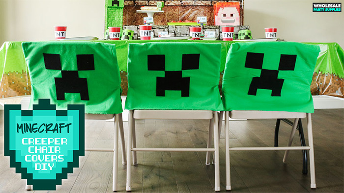 no sew minecraft chair cover