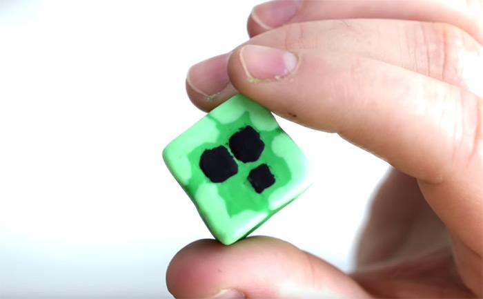Minecraft slime eraser diy