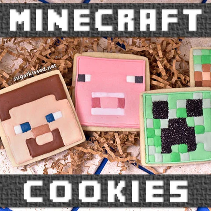 Delicious cookies for minecraft