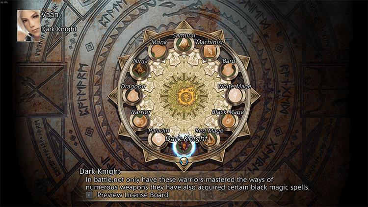 FFXII and the Eorzean Age game mod