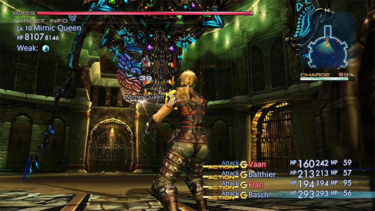 Durable Story Bosses Final Fantasy XII mod