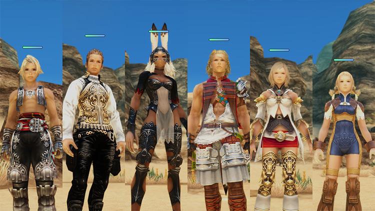 Enhanced Clothing Final Fantasy XII The Zodiac Age mod