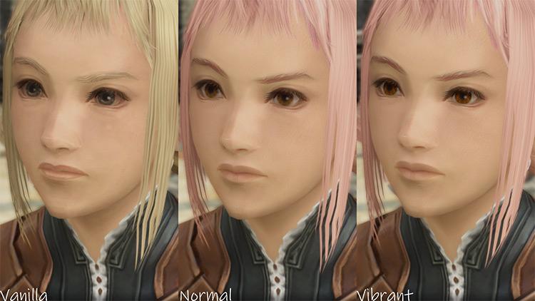 Enhanced Face Textures FFXII The Zodiac Age mod