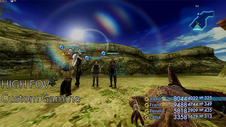 XII Hook Final Fantasy The Zodiac Age mod