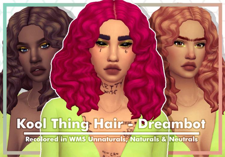 Hair Kool Thing TS4 CC