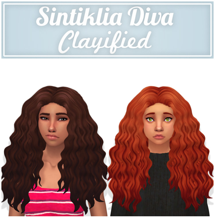 Screenshot of Sintiklia Diva Clayified from the Sims 4