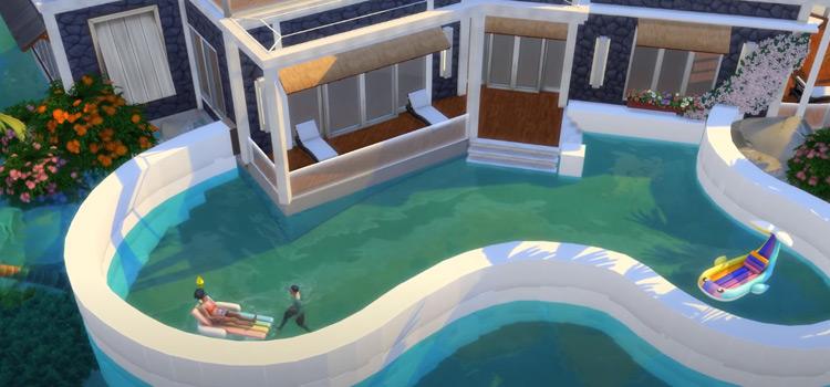 Custom built rich swimming pool design - TS4 Screenshot