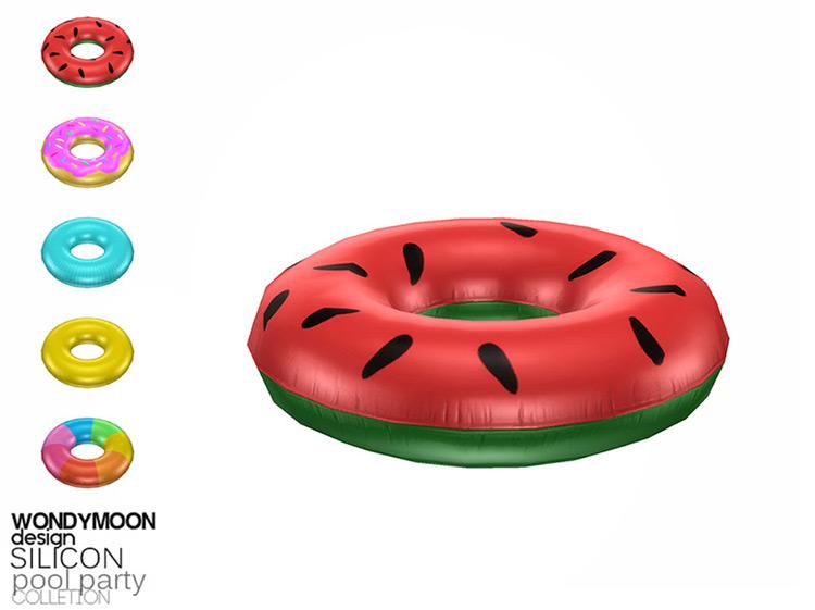 Silicon Tube Floaty CC - Sims 4