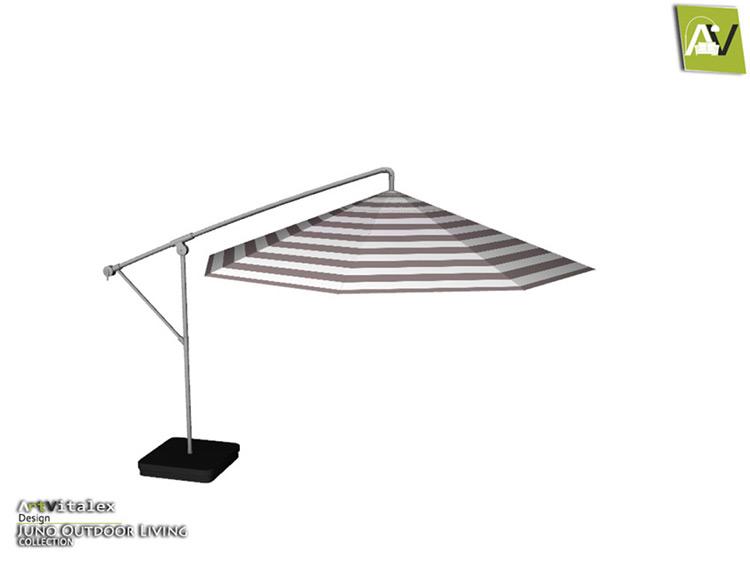 Juno Patio Umbrella CC for Sims 4