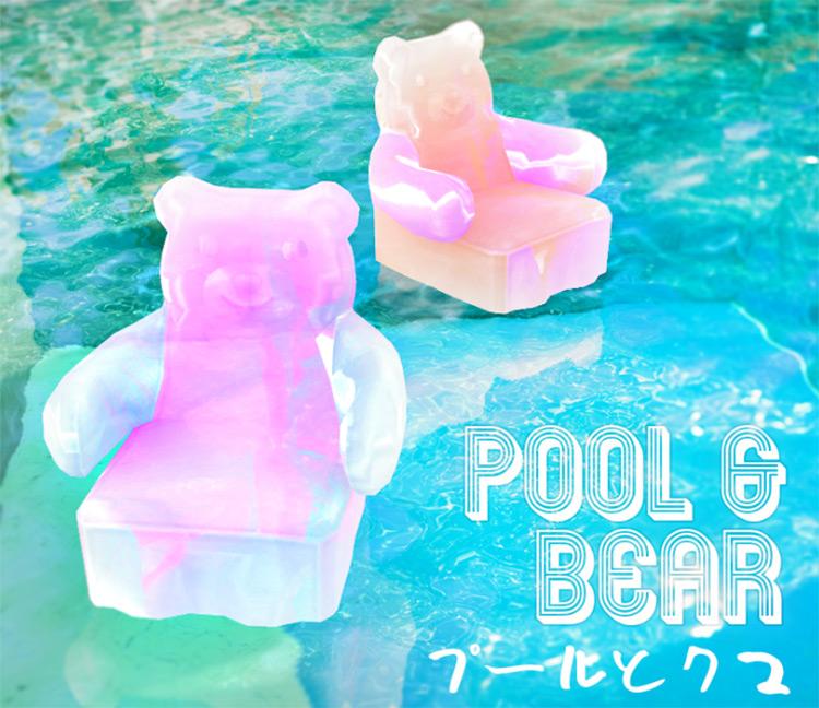 Gummy Bear Floaty CC - The Sims 4