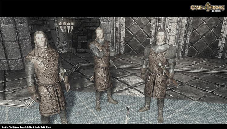 Game of Thrones Followers Skyrim Mod