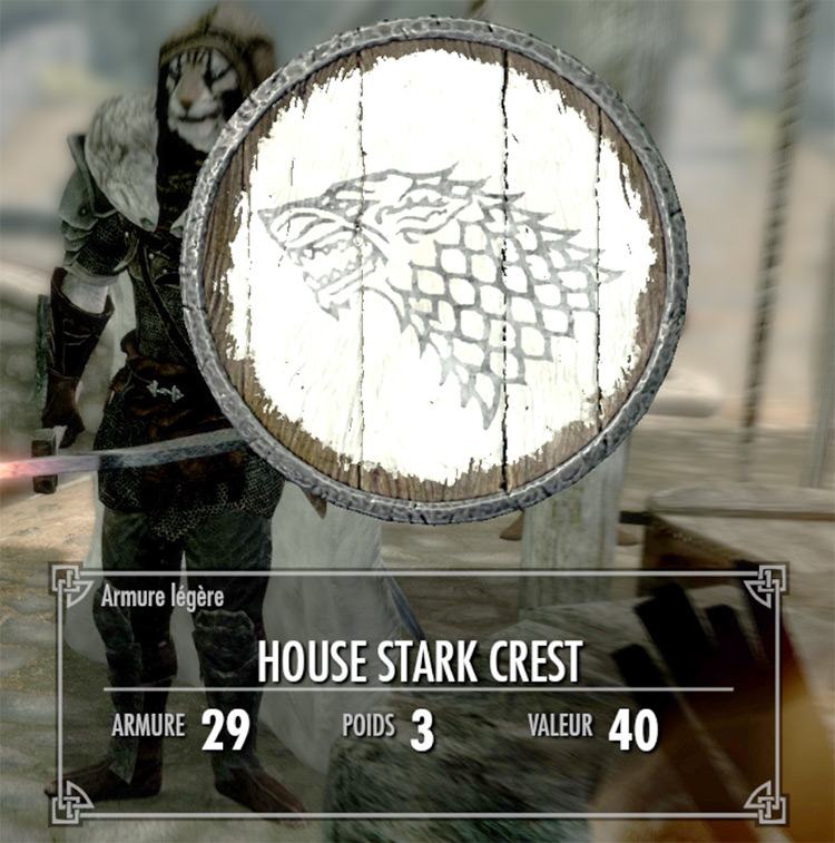 House Shields Game of Thrones Mod - TES Skyrim