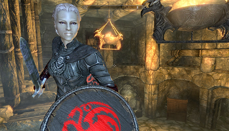 Targaryen Nightingale Prime Armor, Game of Thrones Mod - TES Skyrim