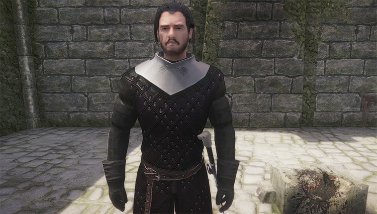 King in the North Armor Game of Thrones Mod - TES Skyrim