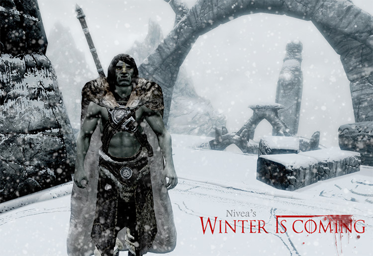 Winter is Coming Cloaks Game of Thrones Mod - TES Skyrim
