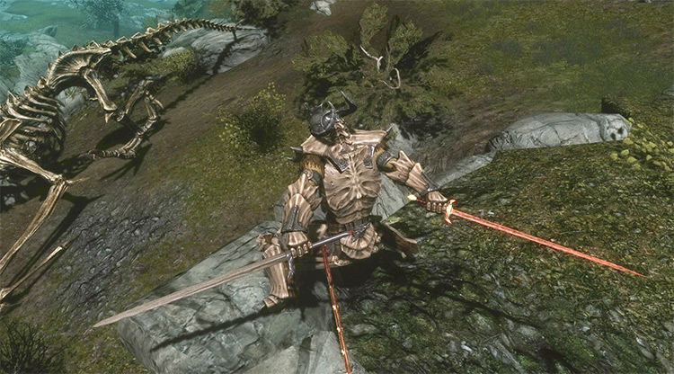 Valyrian Steel Weapons of Ice and Fire Game of Thrones Mod - TES Skyrim