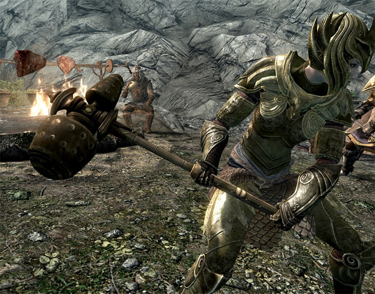 Insanitys Dwemer Weapons Skyrim