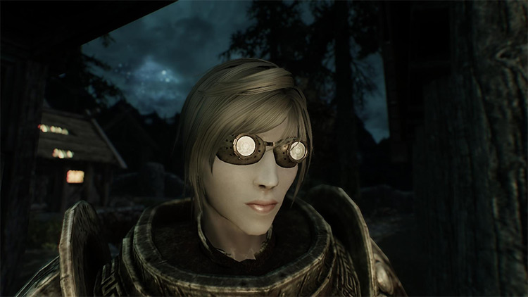 Dwemer Goggles and Scouter preview in Skyrim