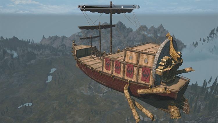 Dwemer Skyship Mod - Skyrim