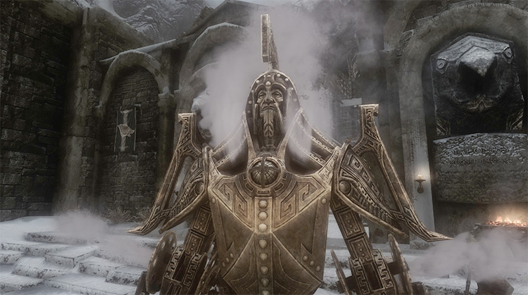 Ancient Dwemer Metal Mod - Skyrim