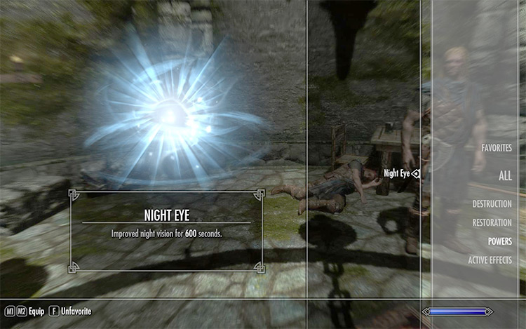 Toggle Khajit Night Eye Skyrim Mod