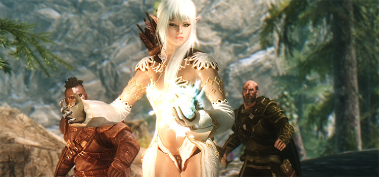 Skyrim Elf Reborn - Custom Modded character screenshot