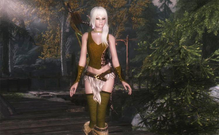 Eryniel Elf Reborn Skyrim Mod