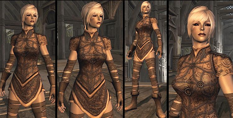 Light Elven Armor Skyrim Mod