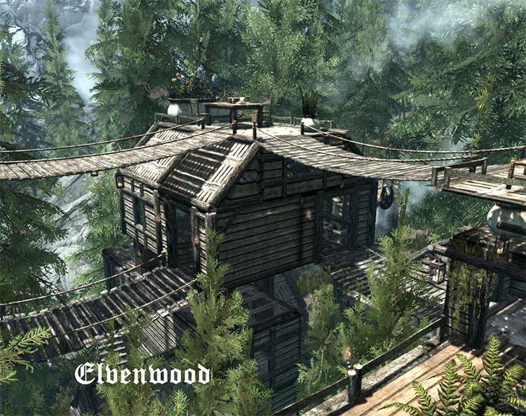 Elvenwood Skyrim Mod