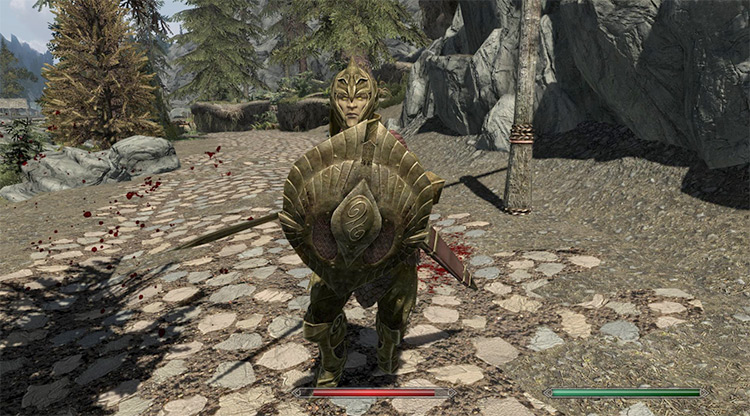 Thalmor Only Use Elven Weapons and Armor Skyrim Elf Mod