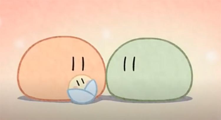 Clannad - Dango Daikazoku ending credits screenshot
